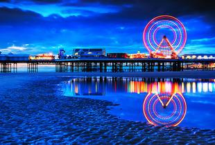 From £69 for a 2-night stay for 2 including a 3-course dinner and breakfast at The Shoreside, Blackpool - save up to 37%