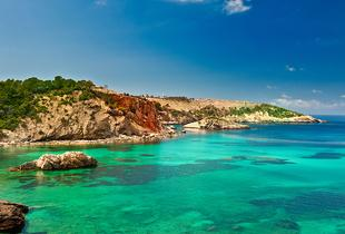 From £129pp (from Tour Center) for a 5-night Ibiza break including flights and optional Formentera or Can Marça tour, or from £159pp for 7 nights - save up to 25%