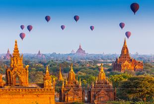 £319pp (from Enjoy Myanmar Holiday) for an 8-day guided tour of Burma including accommodation, tour guide and breakfast, or £699pp for a 14-day tour - save up to 49%