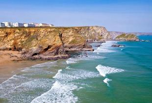 £59 (at The Windward Hotel, Newquay) for a 1-night break for 2 including a welcome drink and breakfast, £99 for 2 nights or £139 for 3 nights - save up to 45%