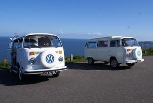 From £129 (with VDubAndAway) for 3-night weekend VW campervan hire for up to 4 people, from £149 for 4-night midweek hire - save up to 53%