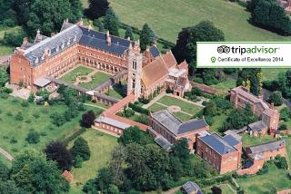 From £99 (from AmaZing Venues) for a 1-night stay for 2 people including breakfast and late check-out, or £189 for 2 nights at Stanbrook Abbey - save up to 45%