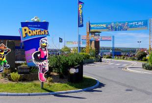 From £79 (at Pontins) for 2-night weekend break for up to 4 at a choice of 4 locations, from £109 for a 3-night weekend break, or from £189 for a 4-night weekday break