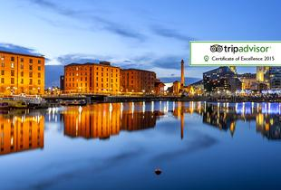 From £59 (at Days Inn Liverpool) for a 1-night Liverpool break for two people including breakfast and a bottle of wine or £99 for 2 nights - save up to 59%