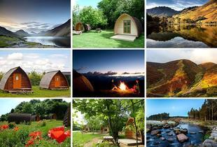£99 (from Buyagift) for a 2-night glamping break for 2 people at a choice of 13 UK locations!