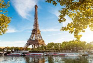 From £189pp instead of up to £256.48pp (from Weekender Breaks) for a two-night 4* Amsterdam and two-night 3* Paris break, including all flights - save up to 26%