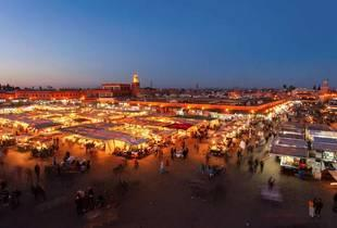 From £99pp (from Crystal Travel) for a 2nt Marrakech break including flights and breakfast, from £139pp for 3nts or from £159pp for 4nts - save up to 34%