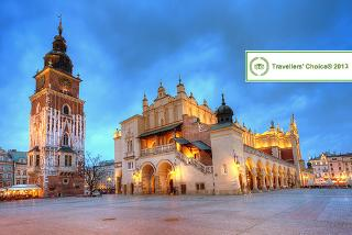 From £79pp instead of £122.48pp (from ClearSky) for a 2-night Krakow break including flights & breakfast, from £119pp for a 3-night break - save up to 35%