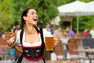 From £199pp (from Tour Center) for a 2-night Oktoberfest camping break including flights and breakfast, £269pp for a 3-night break!