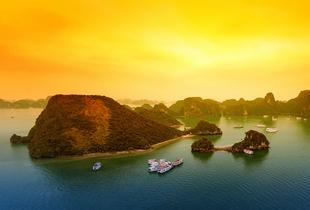 From £399pp (from Getaway Halong Sapa) for a 10-day guided tour of Vietnam including accommodation, overnight cruise, transport, tour guide and daily breakfast - save up to 62%