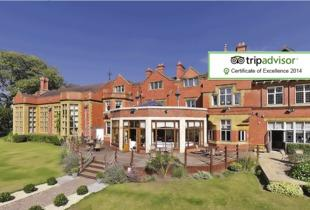 £79 (at The Mount Hotel, Wolverhampton) for a 1-night stay for 2 including afternoon tea and breakfast, or £99 to include 3-course dinner and Prosecco - save up to 50%