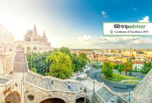 From £89pp instead of up to £114.70pp (with Tour Center) for a 2nt Budapest break inc. flights, spa entry and massage, or from £119pp for 3nts - save up to 22%