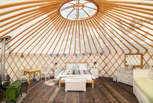 £129 instead of up to £270 (at The Yurt Retreat, Somerset) for a two-night glamping break in a Mongolian-style 20-foot yurt sleeping up to four people - save up to 52%