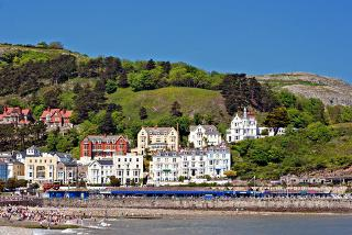 £79 (at The White House, Llandudno) for a two-night stay for two including breakfast and two dinners
