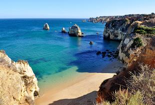 From £129pp instead of £168.62pp (from Tour Center) for a 4-night all-inclusive Algarve break including flights, from £229pp for 7 nights - save up to 23%