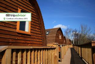 £59 (at The National Diving & Activity Centre, Chepstow) for a 1-night glamping stay for 2 including Prosecco, chocolates and breakfast, £89 for 2 nights - save up to 46%