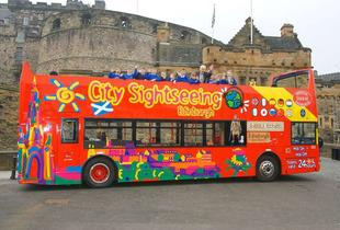 From £4 for a child ticket for a 'hop on-hop off' City Sightseeing bus tour, from £8 for an adult ticket - choose from 12 UK locations!