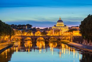 From £99pp (with ClearSky) for a two-night Rome break with return flights, breakfast and a river cruise or Colosseum entry, from £139pp for three nights - save up to 22%