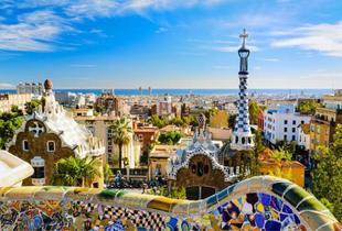 From £99pp instead of up to £132.31pp (with Tour Center) for a two-night Barcelona break with return flights, from £119pp for three nights - save up to 25%