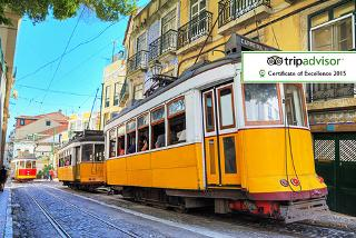From £89pp instead of up to £125.48pp (from Tour Center) for a two-night Lisbon break including flights, from £129pp for a three-night stay - save up to 21%