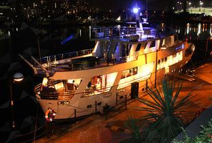 £899 (from Absolute Pleasure Yacht, Canary Wharf) for an overnight private yacht stay for up to 10 people