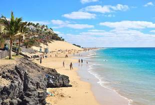 From £99pp instead of £137.98 (from Crystal Travel) for a three-night Fuerteventura break including return flights, from £159pp for a seven-night stay - save up to 28%