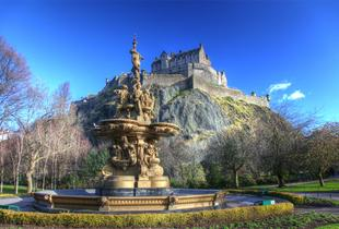 From £69pp (from ClearSky Holidays) for an overnight Edinburgh break inc. leisure access and flights, from £129pp for 2 nights or from £179 for 3 nights - save up to 36%