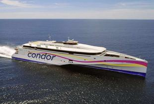 £10 for a children's day return ticket to Guernsey or Jersey from Poole, or £15 for an adult ticket with Condor Ferries - save 78%