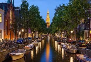 From £79pp (with Seasonal Holidays) for a two-night 4* Amsterdam break with return flights and canal cruise, or from £109pp for a three-night break - save up to 62%
