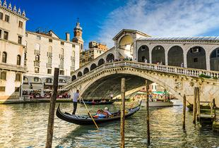 From £129pp (from Tour Center) for a four-night Venice and Rome break including flights, train and breakfast, from £149pp for a six-night break - save up to 46%