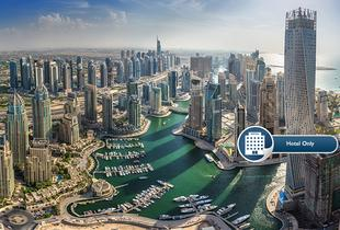From £119pp instead of up to £207.50pp (with OMGhotels.com) for a three-night 5* Dubai stay including breakfast, or £159pp for a four-night stay - save up to 43%