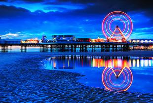From £49 (at South Beach Hotel, Blackpool) for a two-night Blackpool stay for two people including breakfast and lunch - save up to 50%