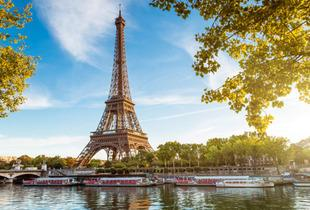 From £109pp (from Crystal Travel) for a 2-night Paris break including flights and a Seine river cruise, from £149pp for a 3-night stay - save up to 22%