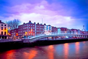 From £69pp (from Crystal Travel) for a two-night Dublin break including flights from Stansted, Luton, Birmingham or Manchester - save up to 45%