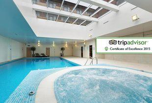 £149 (at The Oxfordshire Golf Club and Spa) for a spa or golf break including breakfast, or £229 for a two-night break!