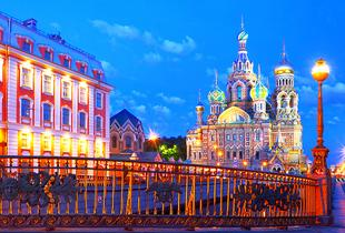 From £259pp (with Tour Center) for a 4nt St Petersburg and Moscow break including direct flights and train transfers, or from £319pp for a 6nt break - save up to 29%