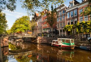 From £99pp (from ClearSky Holidays) for a two-night Amsterdam break including flights and a canal tour, from £139pp for a three-night stay - save up to 31%