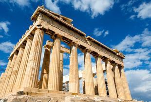 From £89pp instead of up to £111.42pp (from Tour Center) for a two-night Athens break including flights and breakfast, or from £119pp for three nights - save up to 20%