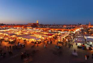 From £99pp (from ClearSky Holidays) for a 3nt 4* Marrakech break including flights, dinner and 20-minute Hammam, from £149pp for 5nts, from £199 for 7nts - save up to 34%