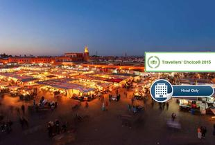 £129 (from Riad Dar Anika) for an overnight 5* Marrakech break for two people including breakfast, £249 for two nights or £369 for three nights - save up to 48%