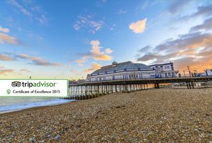 From £99 (at The View Hotel, Eastbourne) for a two-night stay for two with breakfast - save up to 50%