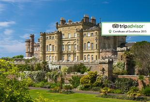 £169 (at The Eisenhower at Culzean Castle) for an overnight castle stay for two inc. country park entry and a sparkling cream tea or £269 for two nights - save up to 42%