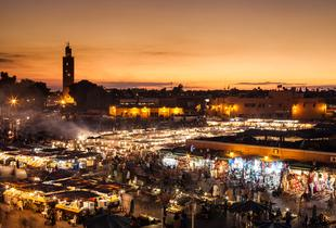 From £89pp (from Cheap Cost Holidays) for a 2nt 4* Morocco break, spa access and return flights, from £109pp for 3 nights, or from £139pp for 5 nights - save up to 33%