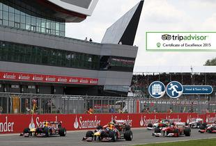 £299pp (from World Choice Sports) for a two-night hotel stay and race-day ticket to the British Grand Prix or £349 with a three-day racing ticket!