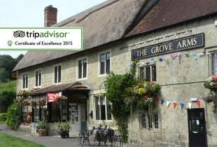 £49 (at The Grove Arms) for a one-night Dorset stay for two including wine, breakfast and late checkout, £89 for two nights!