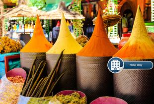 From £59 (with OMGhotels.com) for a 3-night luxury Marrakech break for two with breakfast, from £109 for 5 nights, from £169 for 7 nights - save up to 28%