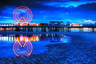 £49 (at Alfies Hotel) for a Blackpool break for two people including dinner, wine and breakfast, £89 for two nights - save up to 51%