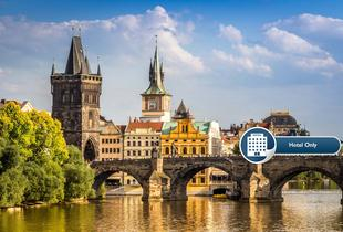 From £29 instead of up to £54 (at the Relax Inn) for an overnight 4* Prague break and breakfast, from £55 for two nights, from £85 for three nights - save up to 46%