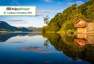 £139 for a two-night Lake District break for two with spa access and breakfast,  £169 including a three-course dinner and Windermere cruise - save up to 44%