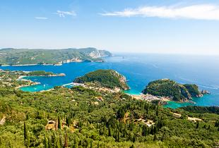 From £149pp (from Great Pacific Travel) for a 3nt 5* Corfu stay including a sea view room and breakfast, 5nts from £219pp, or 7nts from £299pp - save up to 26%